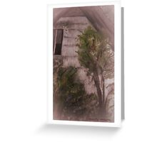 House with Rear Window Greeting Card