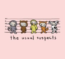 the usual suspects - kids Kids Tee