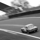 Charging Lotus Elan - Oulton Park by David Jones