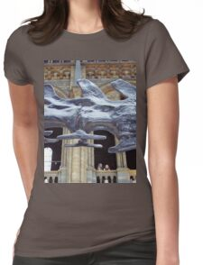 Beautiful Seismosaurus Womens Fitted T-Shirt