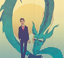 Me  and  the  dragon! by Nicolae Negura