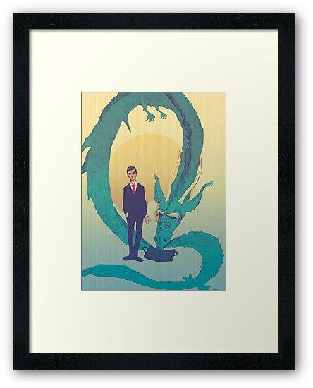Me  and  the  dragon! by Nicolae Negura
