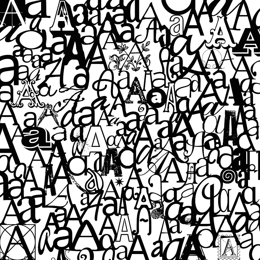 The Letter A by Julie Hartman