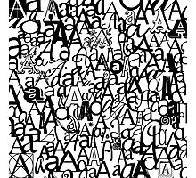 The Letter A Photographic Print