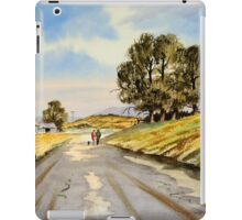 Country Lane Stroll iPad Case/Skin
