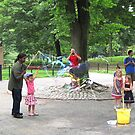 Making Bubbles in Central Park,NYC by Patricia127