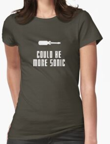 Could be more sonic - Sonic screwdriver 2 Womens Fitted T-Shirt