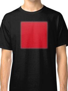Building Block Brick Texture - Red Classic T-Shirt