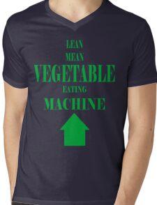 Vegetable Eating Machine Mens V-Neck T-Shirt