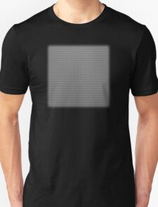 Building Block Brick Texture - Gray Unisex T-Shirt