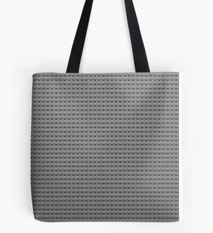 Building Block Brick Texture - Gray Tote Bag