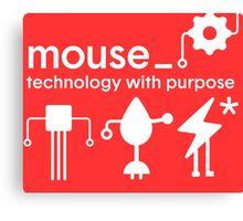 Mouse Tshirt - Unisex Canvas Print