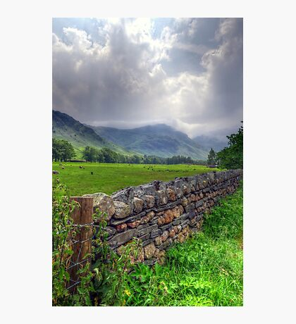 Before the Rains - Langdale Photographic Print