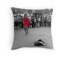 Making a Living Throw Pillow