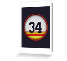 34 - The Ryan Express (Houston) Greeting Card