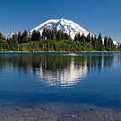 Mount Rainier Reflection by ToddDuvall