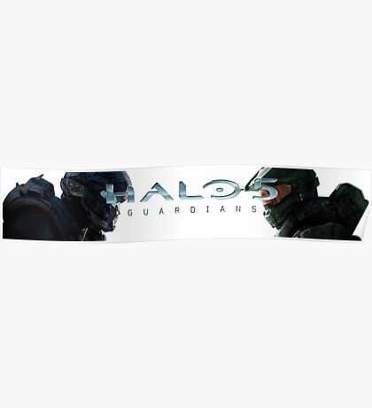 Halo 5 Locke vs Master Chief Poster