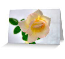 Glowing Beauty Greeting Card