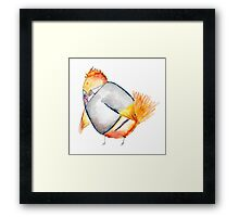 Wren Weasely- Harry Potter Nerdy Bird Framed Print