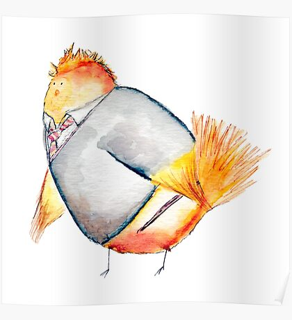 Wren Weasely- Harry Potter Nerdy Bird Poster