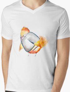 Wren Weasely- Harry Potter Nerdy Bird Mens V-Neck T-Shirt