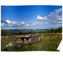Dartmoor Cist Poster