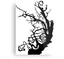 Gnarly Tree Metal Print