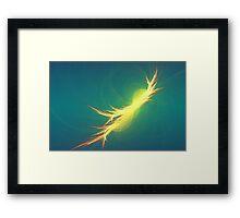 Fractal Phoenix Rising Framed Print