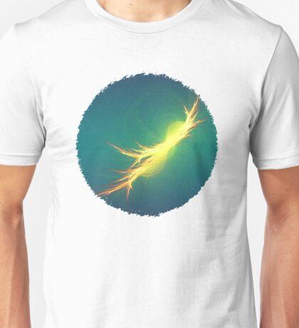 Fractal Phoenix Rising Unisex T-Shirt