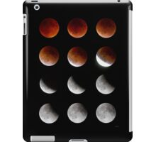 Blood Moon to Super Moon - Sept 27, 2015 iPad Case/Skin