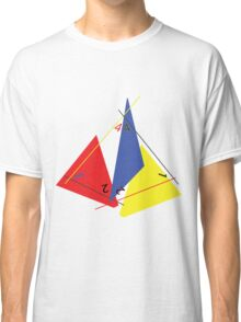 Abstract 4-Sided Die Classic T-Shirt