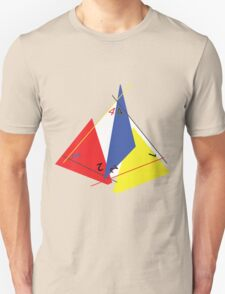 Abstract 4-Sided Die Unisex T-Shirt