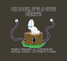 Look, It's a Cute Bunny... OHCRAP Unisex T-Shirt