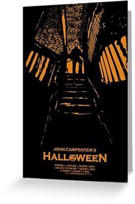 Halloween Stencil by Michael Donnellan