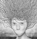 Dichotomized (detail) by Cynthia Lund Torroll