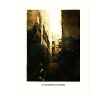 In The Comfort Of Shadows Art Print