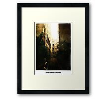 In The Comfort Of Shadows Framed Print