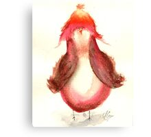 Jayne caCAWb- Firefly Nerdy Birdy Canvas Print