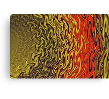 Ripples in Indian Summer Canvas Print
