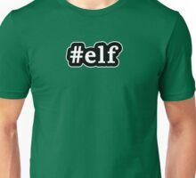 Elf - Hashtag - Black & White Unisex T-Shirt