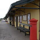 &#x27;YE OLD RAILWAY STATION!&#x27; Goolwa Wharf Precinct. by Rita Blom