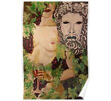 Figure and Mask no.4: Dionysus Poster