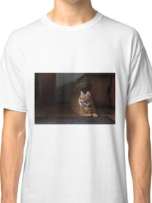 Excited cat Classic T-Shirt