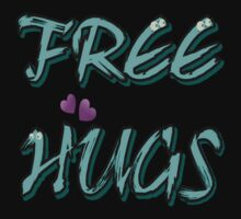FREE HUGS TXT Kids Clothes