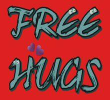 FREE HUGS TXT One Piece - Short Sleeve