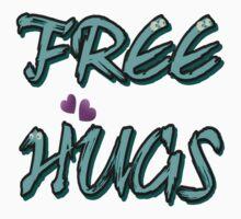 FREE HUGS TXT. One Piece - Short Sleeve
