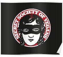 Secret Society Of Vegans - Original Logo Poster