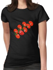 Stop looking at me, Please. Thanks! Womens Fitted T-Shirt