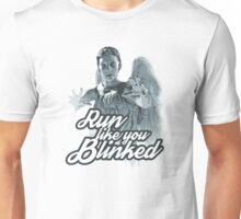 Weeping Angel Run Like You Blinked Doctor Who Unisex T-Shirt