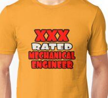 XXX Rated Mechanical Engineer Unisex T-Shirt